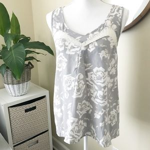 JACK by BB DAKOTA | Abstract Roses Lace Top